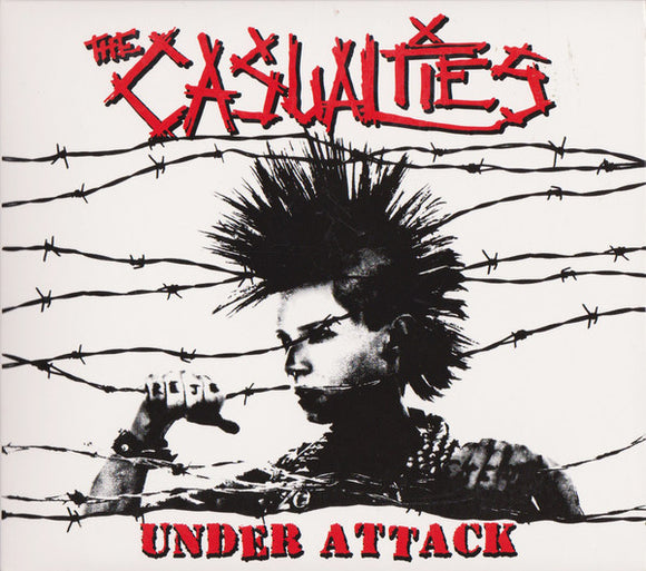 THE CASUALTIES - UNDER ATTACK LP