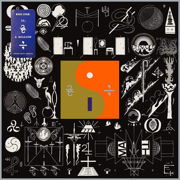 BON IVER - 22 , A MILLION Vinyl LP