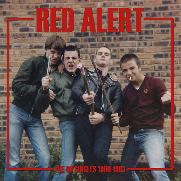 RED ALERT - THE OI! SINGLES 1980-1983 Vinyl LP