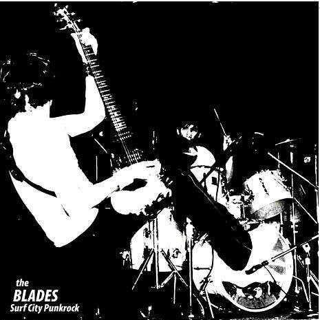 THE BLADES - SURF CITY PUNKROCK LP