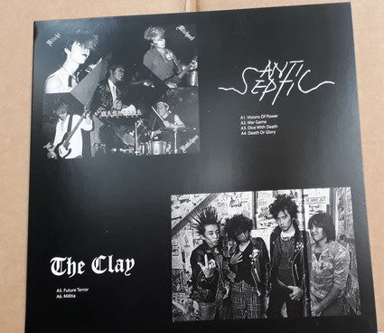 ANTI-SEPTIC / THE CLAY - SPLIT LP