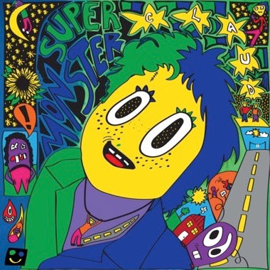 CLAUD - SUPER MONSTER (Clear Green & Blue Vinyl)  LP