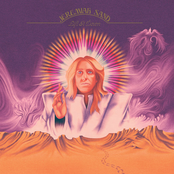 JEREMIAH SAND - LIFT IT DOWN Purple Vinyl 2xLP