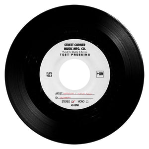 CARLOS NINO & FRIENDS - HOUSE SHOES PRESENTS FLIP SESSIONS VOL 4 Vinyl 7""
