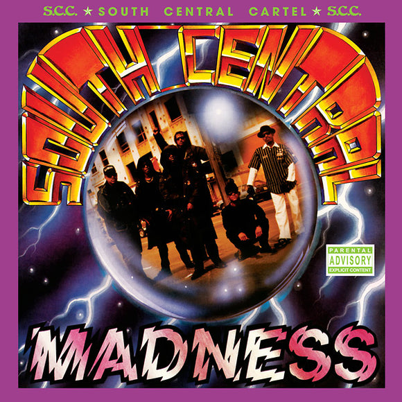 SOUTH CENTRAL CARTEL - SOUTH CENTRAL MADNESS Vinyl LP