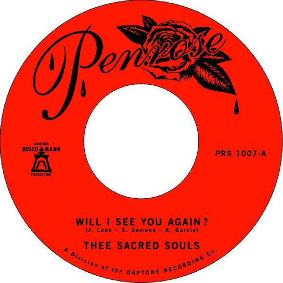 THEE SACRED SOULS - I SEE YOU AGAIN Vinyl 7
