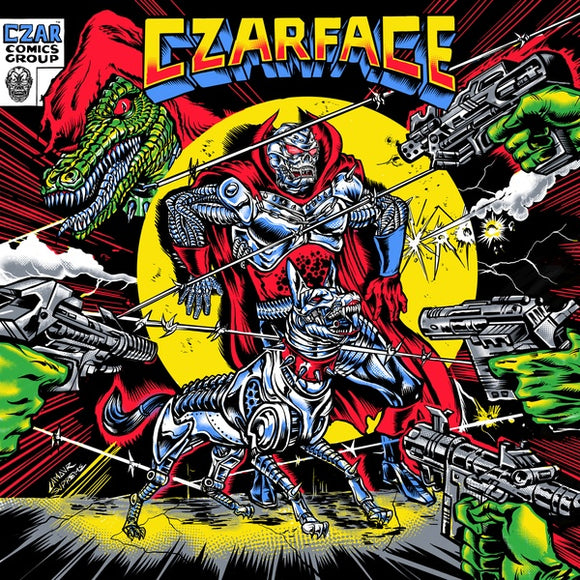 CZARFACE - THE ODD CZAR AGAINST US Vinyl LP