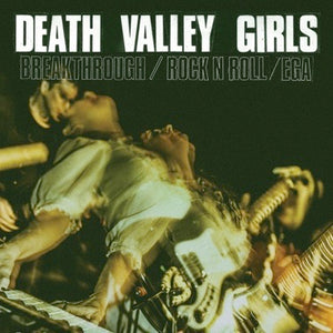 "DEATH VALLEY GIRLS - BREAKTHROUGH Vinyl 7"" (Half Purple/Half Black)"