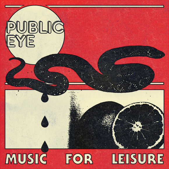 PUBLIC EYE - MUSIC FOR LEISURE Vinyl LP