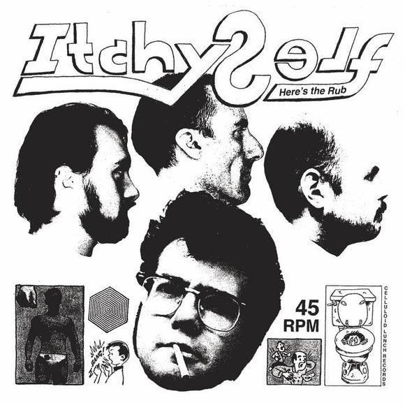 ITCHY SELF - HERE'S THE RUB Vinyl 12