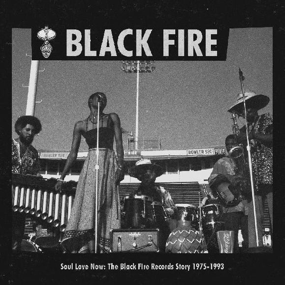 V/A - BLACK FIRE - SOUL LOVE NOW: THE BLACK FIRE RECORDS STORY 1975-1993 Vinyl 2xLP
