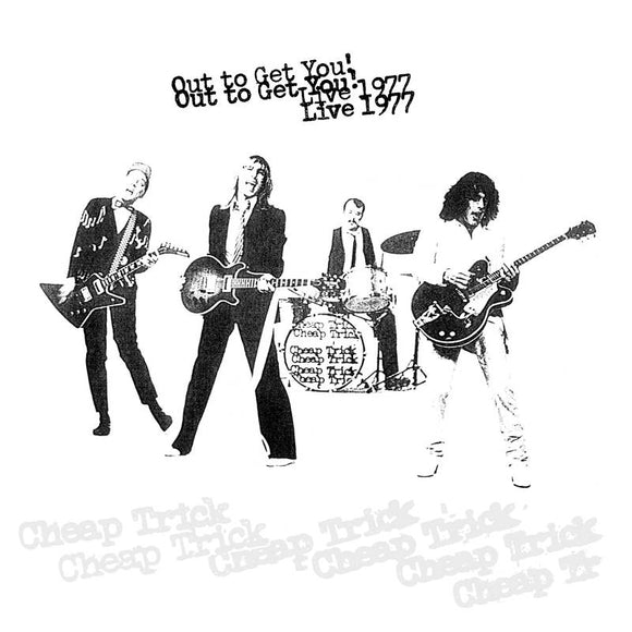 CHEAP TRICK - OUT TO GET YOU! LIVE 1977 Vinyl 2xLP