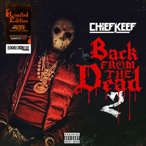 CHIEF KEEF - BACK FROM THE DEAD 2 Vinyl 2xLP