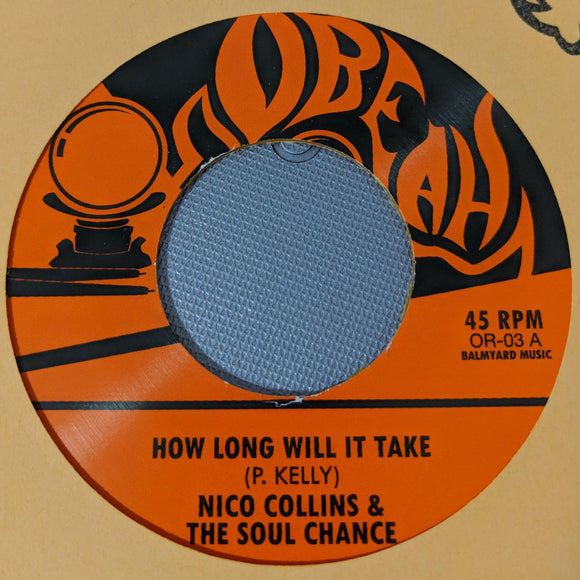 THE SOUL CHANCE - HOW LONG WILL IT TAKE / GONNA LEAVE Vinyl 7