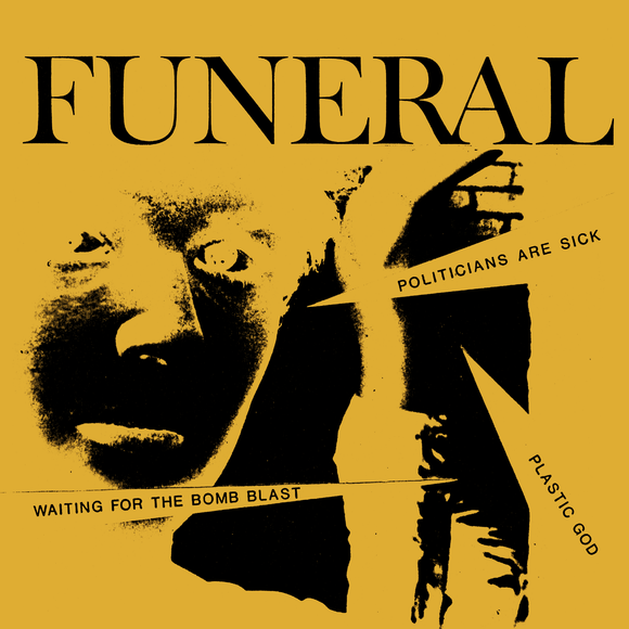 FUNERAL - WAITING FOR THE BOMB LAST Vinyl 7