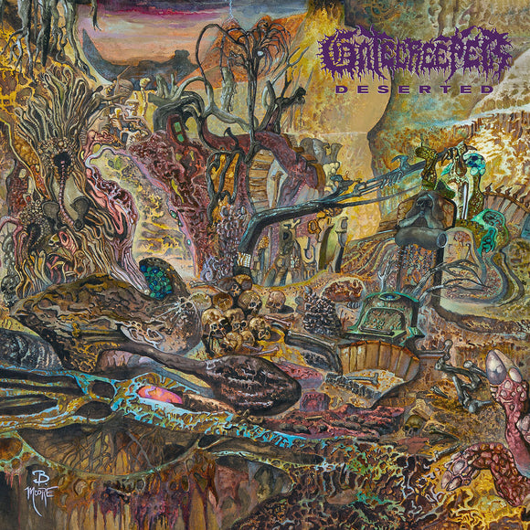GATECREEPER - DESERTED LP (Colored Vinyl)