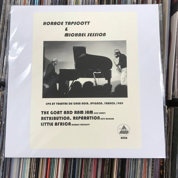 TAPSCOTT, HORACE & MICHAEL SESSION - LIVE IN AVIGNON, FRANCE 1989 (Bootleg Edition) Vinyl LP
