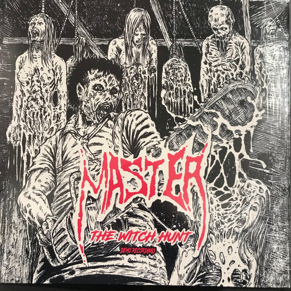 MASTER - THE WITCH HUNT (Demo Recordings) Vinyl LP