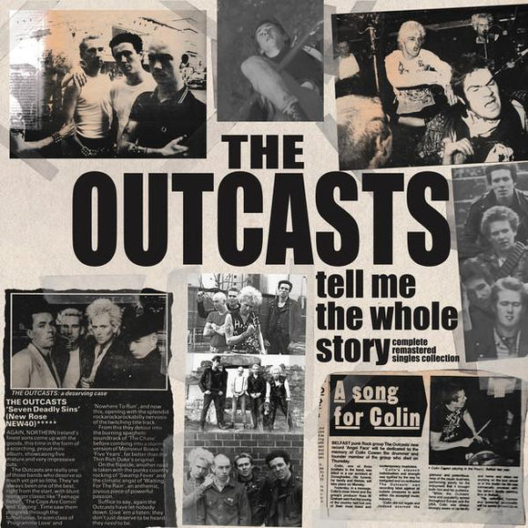 OUTCASTS - TELL ME THE WHOLE STORY Double Vinyl LP