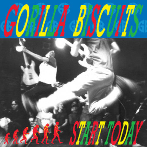 GORILLA BISCUITS - START TODAY (Colored Vinyl) LP