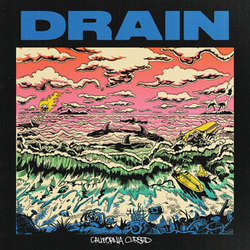 DRAIN - CALIFORNIA CURSED LP (GREEN VINYL)