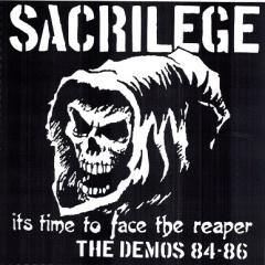 SACRILEGE - TIME TO FACE THE REAPER, DEMOS 84-86 2 x LP