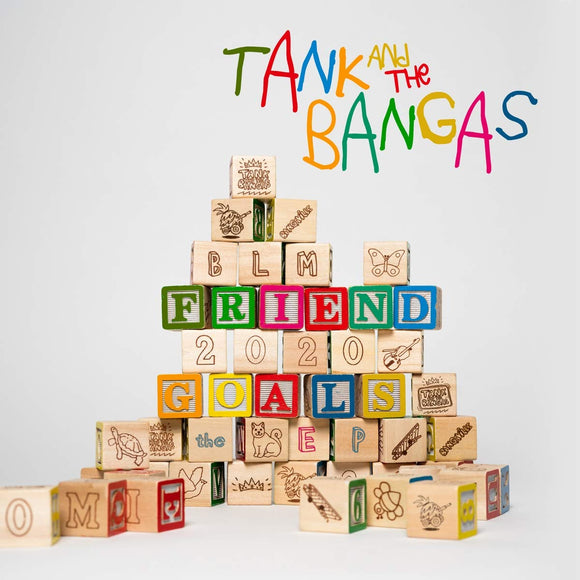 TANK AND THE BANGAS - FRIEND GOALS Vinyl 12