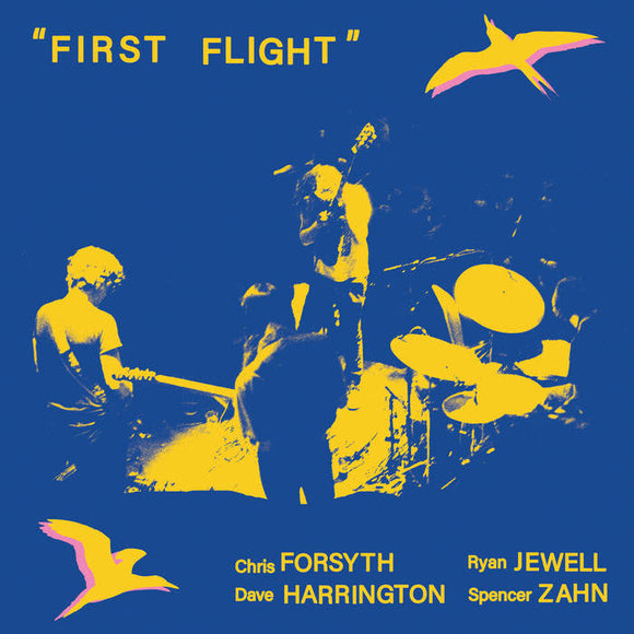 FORSYTH / HARRINGTON / JEWELL / ZAHN - FIRST FLIGHT Vinyl LP