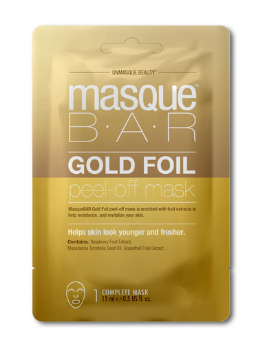 Masque Bar Gold Foil Peel of Mask Revitilazante Sachet 15ml