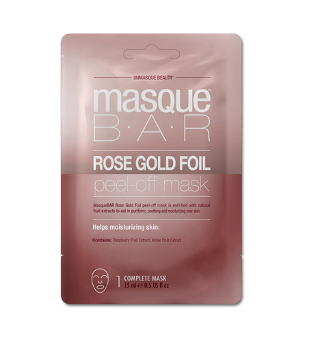 Masque Bar rose Gold Foil Peel of Mask Hidratante Sachet 15ml