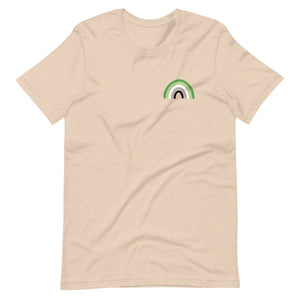 Aromantic Rainbow Tee