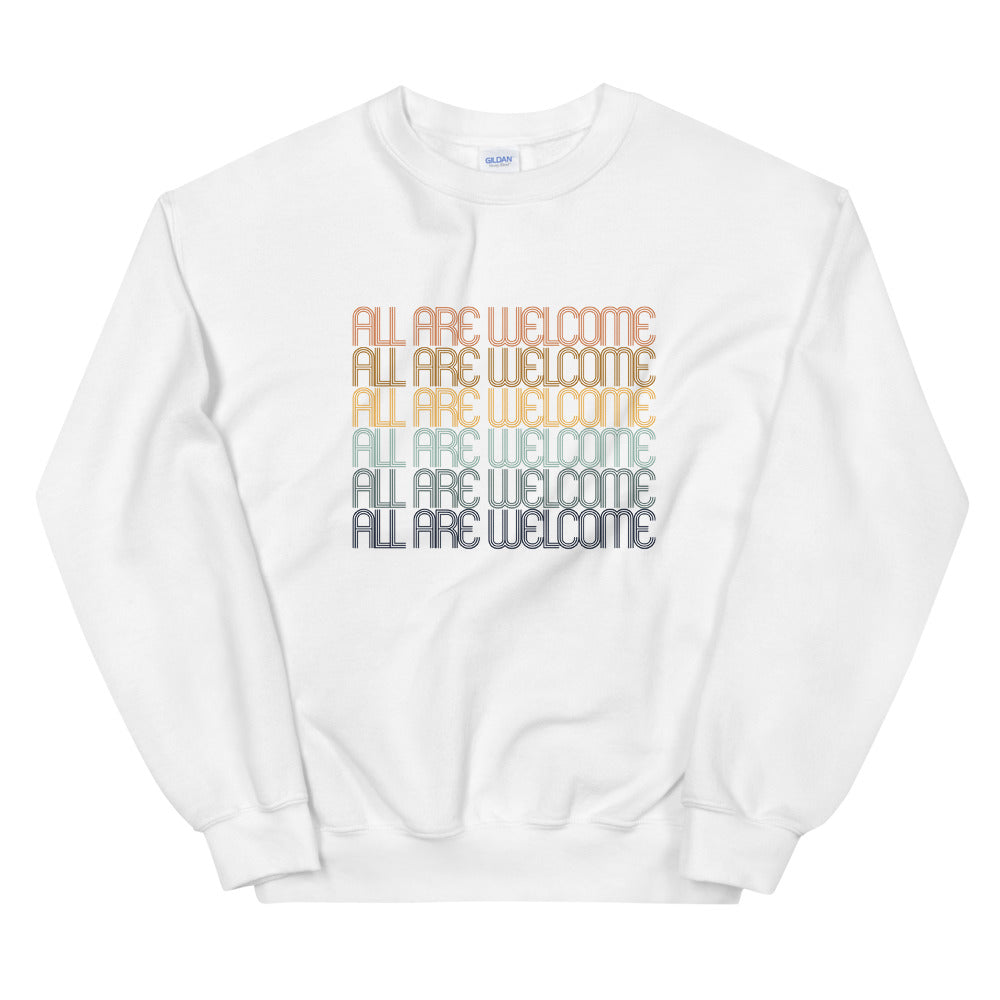 All Are Welcome Unisex Crewneck
