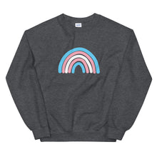 Load image into Gallery viewer, Trans Rainbow Unisex Crewneck