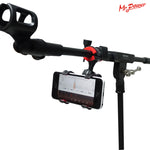 Guitar Stand Universal Music Stand Microphone Mic Stand Phone Holder for iPhone for Samsung Smart Phones New