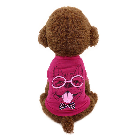 NewCute Pet Dog Cat T-shirt Clothing Small Puppy Costume dog clothes summer dog jersey chaleco perro camiseta perro