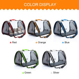Oversized Loaded Pet Carrier for Cats and Dogs Travel Bag 3 Sizes Sling Bag Portable Transparent Breathable Single Shoulder Bags
