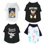 15 Style Pet Cat Costume Small Dog Cat Clothes Cute Puppy Cat Kitten T-shirt Summer Vest Shirt Apparel for Spring and Summer