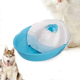 110-230V Fresh Water Dog Fountain Auto Pet Water Feeder Dog Drinking Container Cat Water Dish with 2 Nozzle