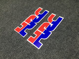 Motorcycle high-quality stereo 3M logo car sticker fit for Honda hrc