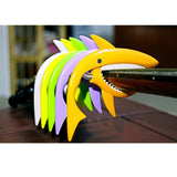 SOACH new plastic personality shark capo multiple color options ukulele Guitar Parts & Accessories