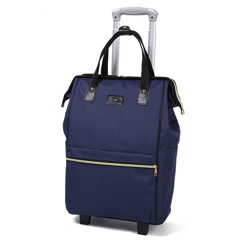 Large Capacity Oxford Cloth Waterproof Maletas De Viaje Con Ruedas Envio Suitcases Luggage Set Rolling Travel Bag Fixed Caster