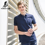 Pioneer Camp Polo shirts men brand clothing office solid polos male quality 100% cotton casual summer polo men