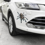 3D Car Sticker Animals Bumper Spider Gecko Scorpions Car-styling Abarth Vinyl Decal Sticker Cars Auto Motorcycle Accessories