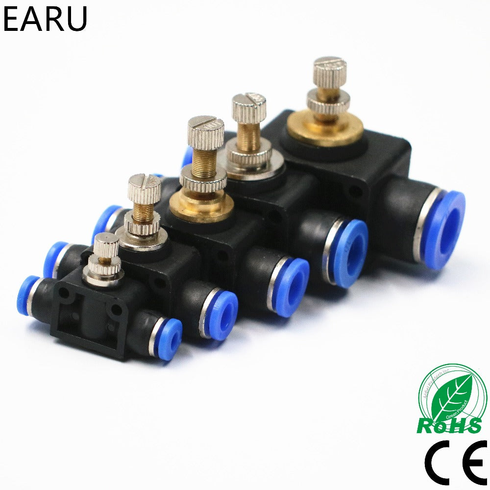Free shipping throttle valve SA 4-12mm Air Flow Speed Control Valve on air vacuum valve schematic, one way valve schematic, air operated check valve, air flow control valves push, air release valve schematic, air flow damper control system, air valves types, hydraulic proportional valve schematic, hydraulic flow limiter schematic, air pressure relief valve schematic, air flow control valves mack, air valves 111817 sn13060667120270, air flow check valve, 4-way valve schematic, air bag valves, air foot valve schematic,