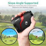 BOBLOV Golf Telescope Rangefinder 600m Distance Meter 6X Monocular Golf hunting Range Finder Speed Tester