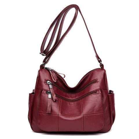 сумка женская Bags for Women 2020 Free Shipping Bag Sac Femme PU Leather Shoulder Bag Single Messenger Bags Bolsos Sacoche Femme