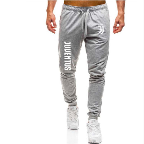 Pantalones masculinos de marca Juventus Sweatpants hombres ocio Fitness Bodybuilding Casual pantalones Fitness Homme Outwear Joggers
