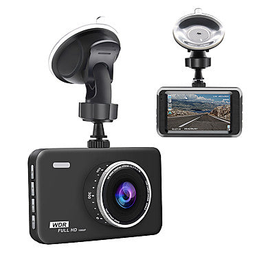 junsun q5 dash cam 3 lcd full hd 1080p 140 gran angular dashboard camera coche dvr vehículo dash cam con video sensorloop grabación visión nocturna g-sensor