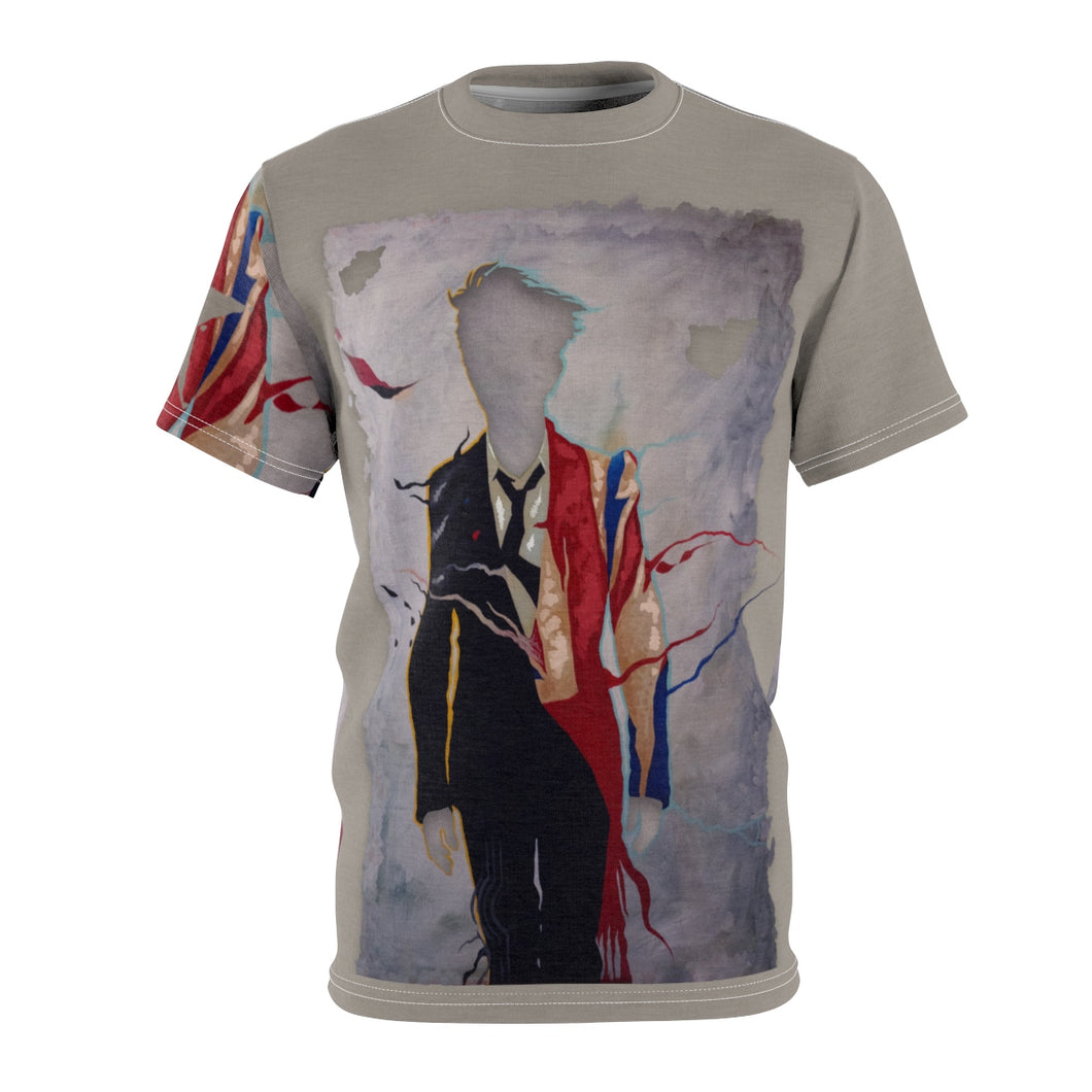 The Man Who Fell to Earth- Unisex All Over Print Cut & Sew Tee