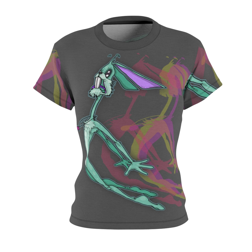 Flying Rabbit- Women's All Over Print Cut & Sew Tee